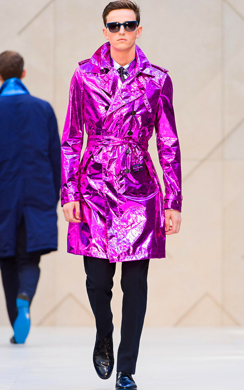 Burberry_Prorsum_Spring_Summer_2013_Metallic_Trench_Coat